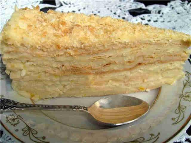 Наполеон торт медовый рецепт с фото