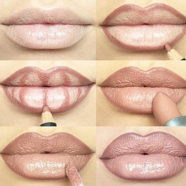 Как сделать губу больше
