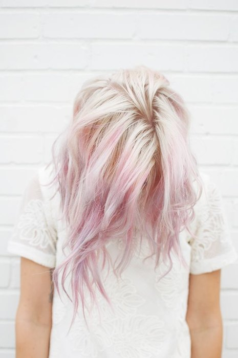Pink and blonde hair ideas