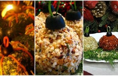 Закуска «Елочные шарики»: тематическое блюдо для новогоднего стола